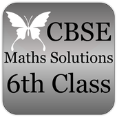 CBSE Maths Solutions 6th Class icon