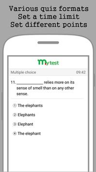 My Test screenshot 1
