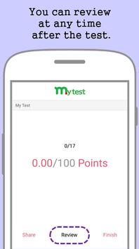 My Test screenshot 2