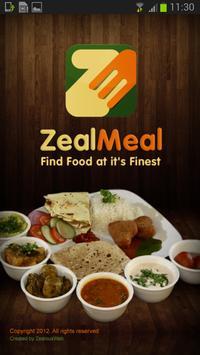 ZealMeal poster