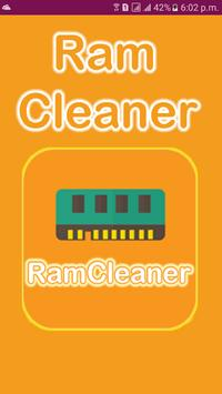 Ram Cleaner Master Auto Speed Booster Cleanup poster