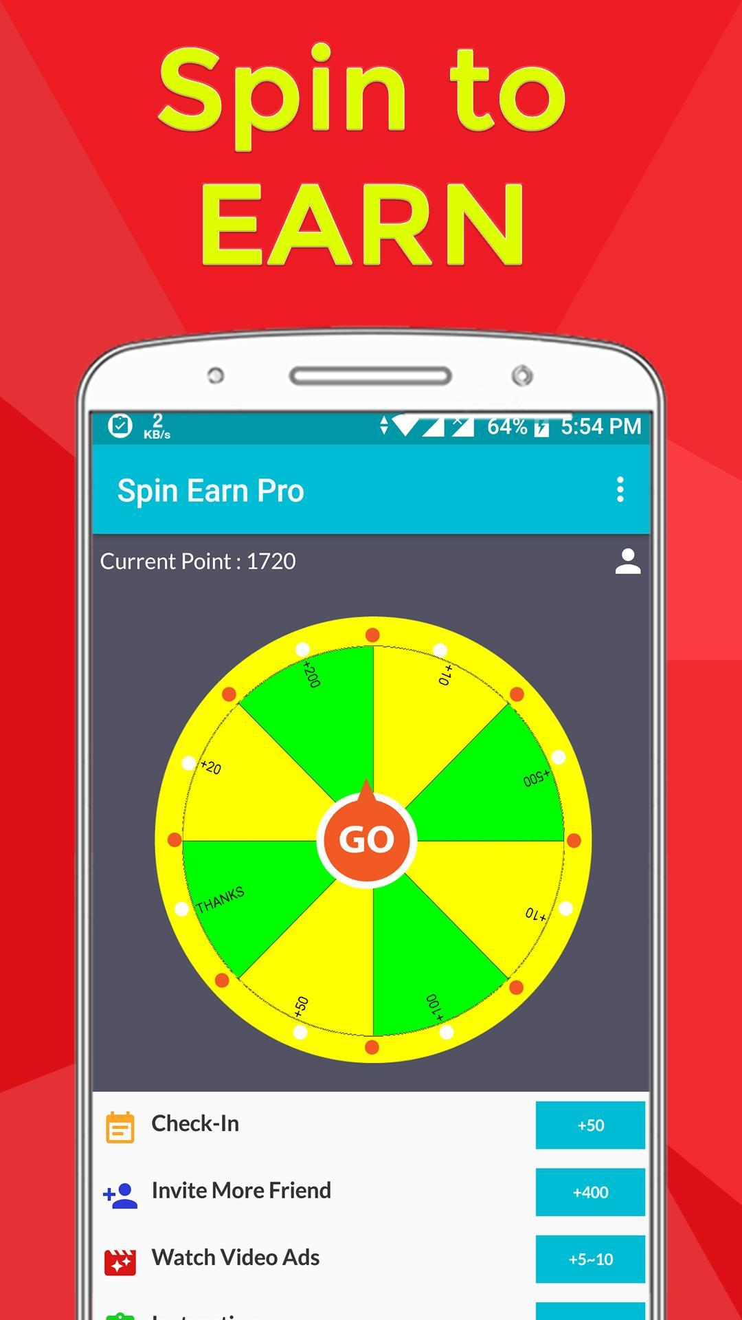 Spin Earn Pro for Android - APK Download