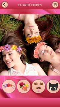 Flowers add Filters Photo Warp apk screenshot