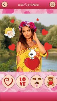 Love Emoji Photo Editor Selfie apk screenshot