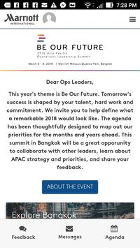 Marriott Asia Pacific 2018 poster