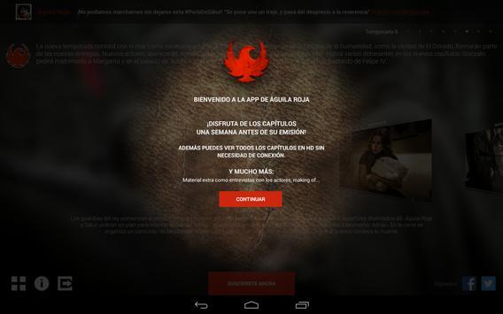 Aguila Roja screenshot 1