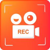 Screen Recorder Audio Video -No RooT & HD Recorder icon