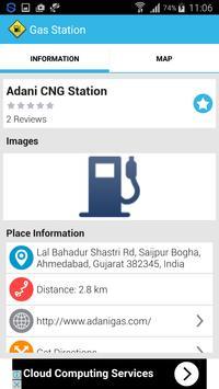 CNG Station Locator Around You screenshot 1