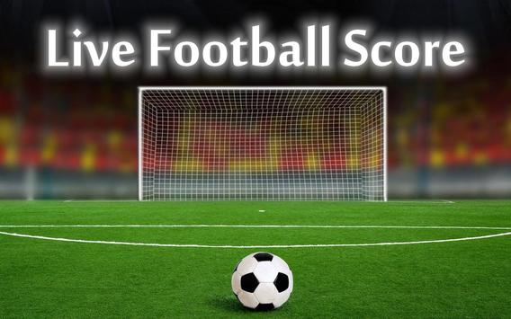 Live Football Score and News poster