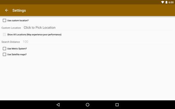 Horse Race Tracks Finder apk screenshot