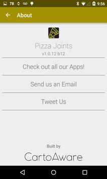 Pizza Joints Finder apk screenshot