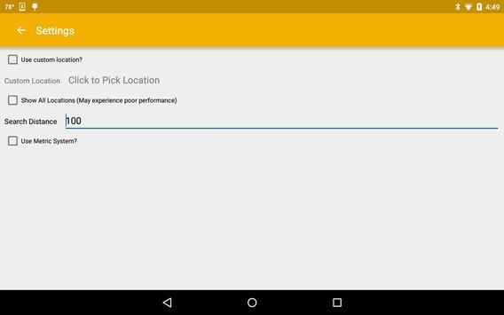 Nearby Zip Codes screenshot 6