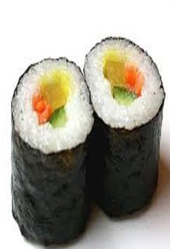 Resep Membuat Sushi poster