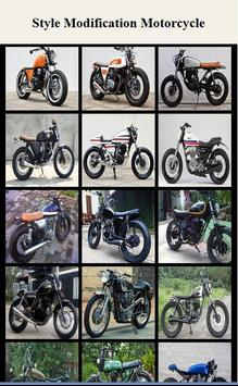 Classic Modification Motorcycle poster