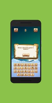 Trivia Quiz for Blox screenshot 2