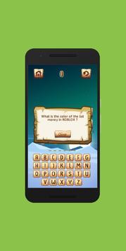 Trivia Quiz for Blox screenshot 4
