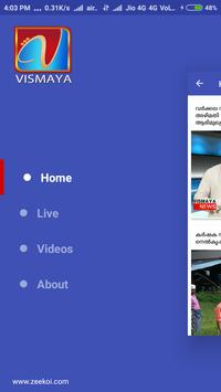 Vismaya News Channel Live apk screenshot