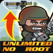 New; Cheats Doodle Army 2 Mini Militia icon