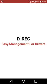 D-REC Easy Management Drivers poster