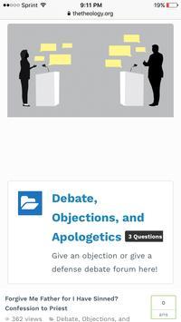 Christian Forums - The Theology Forum screenshot 2