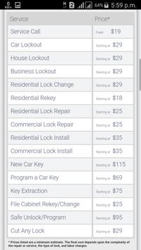 Lock to Lock Locksmith screenshot 2