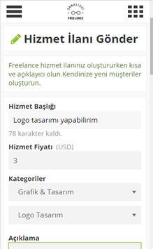 Freelance Sanalisci apk screenshot