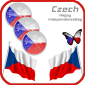 Independence Day Czech Frames icon