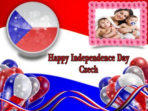 Independence Day Czech Frames apk screenshot