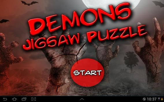 Demons Jigsaw Puzzle poster