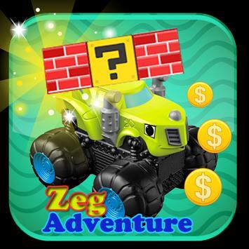 Zeg Adventure Blaze World poster