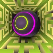 Crazy Maze Ball 3D icon