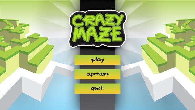 Crazy Maze Ball 3D poster