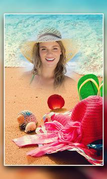 Beach Photo Frame poster