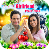 Girl friend Photo Frame icon