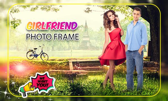 Girl friend Photo Frame screenshot 1