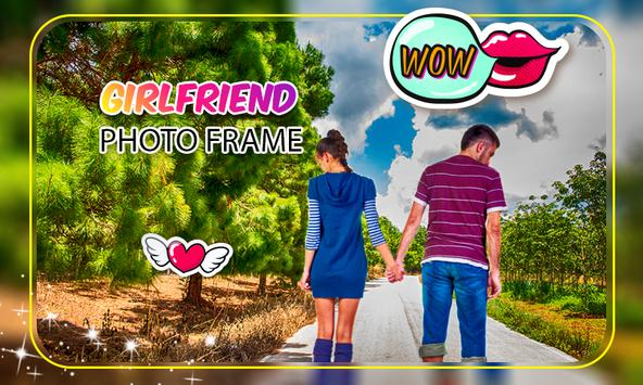 Girl friend Photo Frame screenshot 2