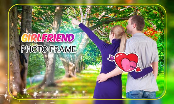 Girl friend Photo Frame screenshot 4