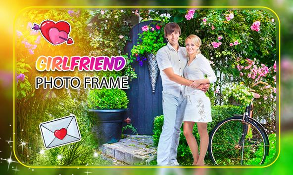 Girl friend Photo Frame screenshot 5