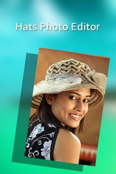 Hats Photo Editor poster