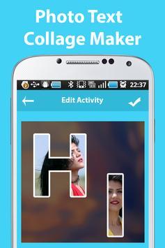 Photo Text Collage Maker screenshot 3