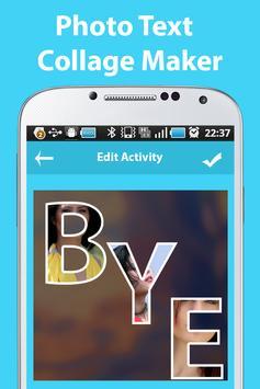 Photo Text Collage Maker screenshot 2
