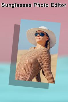 Sunglasses Photo Editor poster
