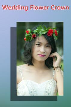 Wedding Flower Crown Hairstyle poster