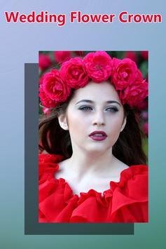 Wedding Flower Crown Hairstyle apk screenshot