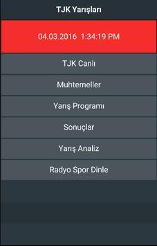 TJK Yarışları 4 apk screenshot
