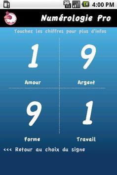 Horoscope Numérologie Pro poster
