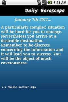 Daily Horoscope - Aquarius poster