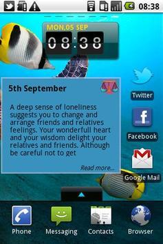 Daily Horoscope - Aquarius apk screenshot