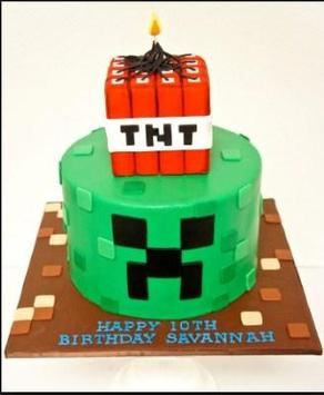 Birthday Cake Minecraft Ideas apk screenshot