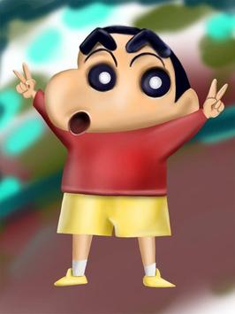 Learn to Draw Shin Chan poster